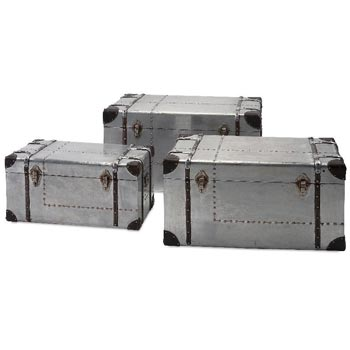Galvanized Iron Storage Trunk 02