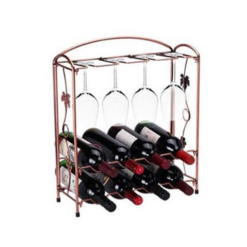 Iron Bottle & Glass Holder 03