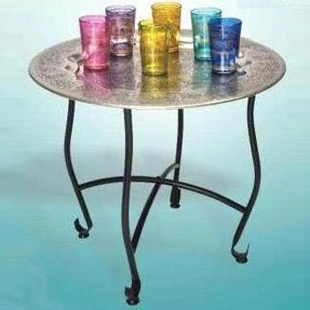 Moroccan Silver Table
