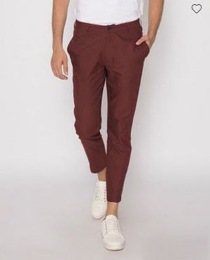 Barn Red Slim Oxford Pants