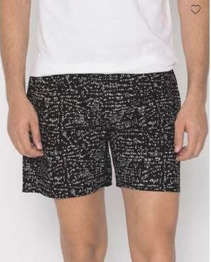 Blackboard All Over Printed Boxer