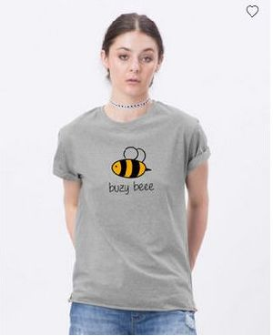 Busy Bee Boyfriend T-Shirt