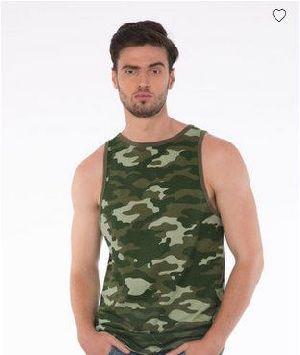 Classic Camouflage Longline Vest