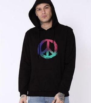 Colors Of Peace Fleece Hoodies