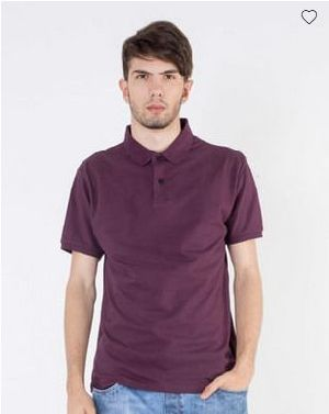 Ibiza Purple Pique Polo T-Shirt