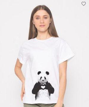 Panda Love Boyfriend T-Shirt
