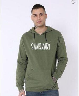 Sanskari Fleece Hoodies