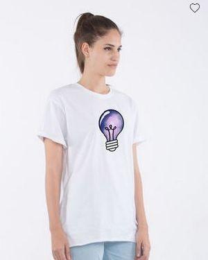 Space Bulb Boyfriend T-Shirt
