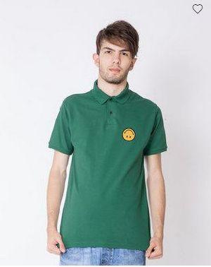 Upside Down Pique Polo T-Shirt