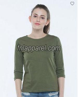 Ladies Plain T-Shirts