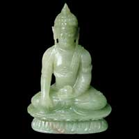 Gemstone Buddha Sculpture