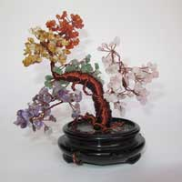 Gemstone Tree Sculpture