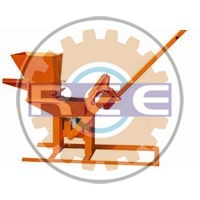 Manual Interlocking Brick Making Machine