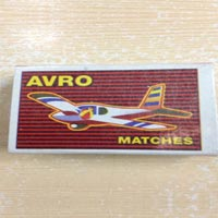 Eco Cardboard Match (Avro Jumbo 40'S)
