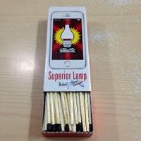 Premium Cardboard Match (Superior Lamp I Matches Slides 170'S)