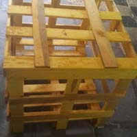Chemically Treated Wood Crates