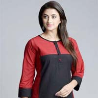 Color Block Kurti