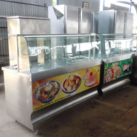 Snacks Display Counter