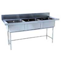 Stainless Steel Sink Unit 02