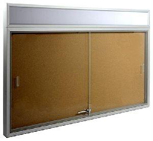 Sliding Glass Notice Boards
