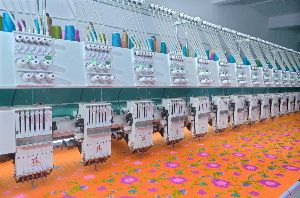 Bullet Embroidery Machine (1000 RPM) Fully High Speed