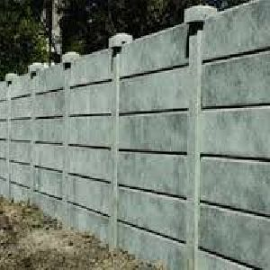 Cement Boundary Wall 01