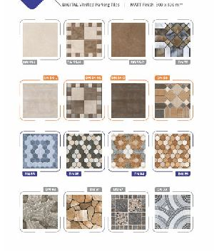 Matt Finish Digital Vitrified Parking Tiles