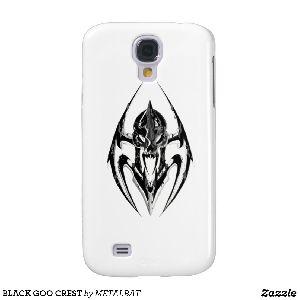Black Goo Crest Samsung Galaxy S4 Case