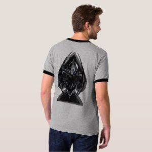 Mens Dark Spade Ringer T-Shirts