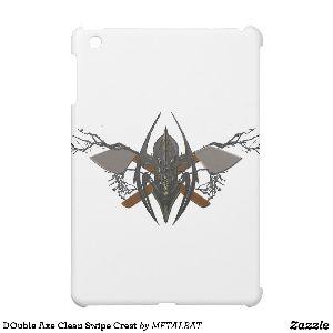 Double Axe Clean Swipe Crest iPad Mini Cover