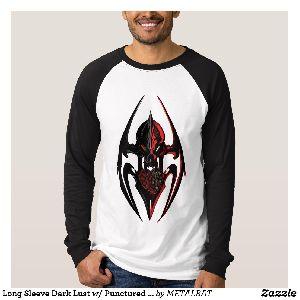 Mens Dark Lust Punctured Love T-Shirts