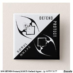 SORUL-Defend Square Button