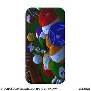 Lucky Break Man Ip4 Iphone 4 Case