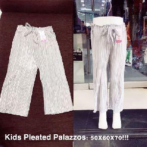 Girls Plain Palazzo Pants