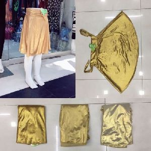 Ladies Metallic Skirts