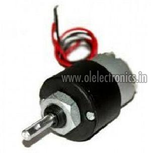 10 RPM DC Geared Motor