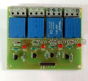 12V Four Channel Relay Board