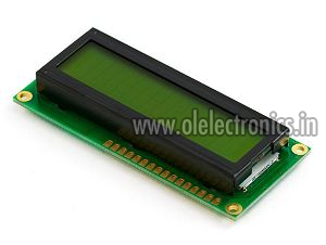16X2 LCD Character Display Module