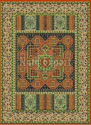 Hand Knotted Carpet 16