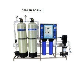 500 LPH 3 Membrane Commercial RO Plant