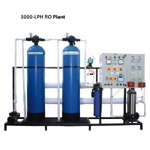 3000 LPH FRP Commercial RO Plant