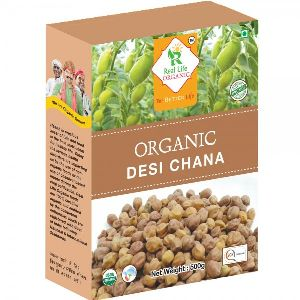 Organic Black/Brown Chick Pea