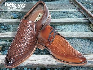 Mens Brown Formal Shoes 06