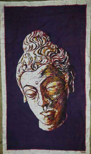 Buddha Head Paintings