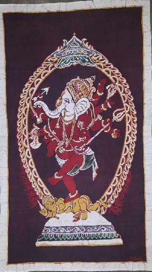 Nataraja Style Ganesha Painting 01