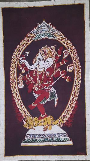 Nataraja Style Ganesha Paintings