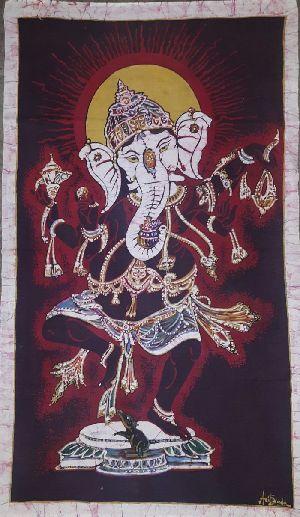 Dancing Ganesha Painting 01