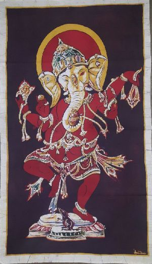 Dancing Ganesha Painting 02