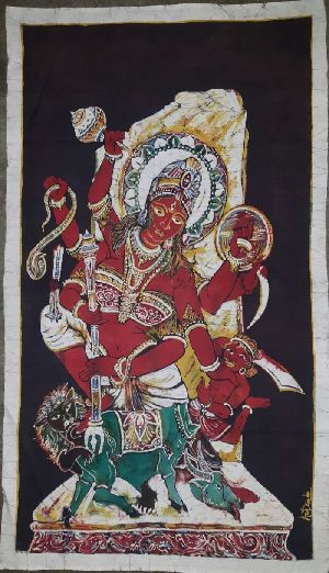 Goddess Durga Paintings