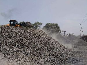 Crushed Stone Chips 06